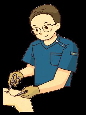 ユタカ医院の外科治療